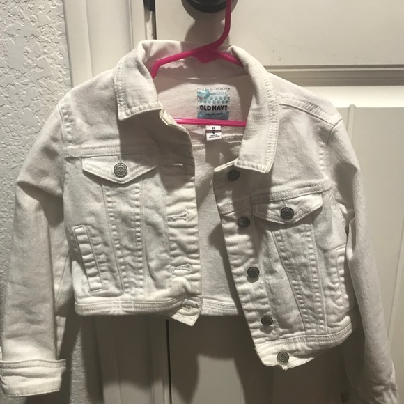 Old Navy Other - White denim jacket